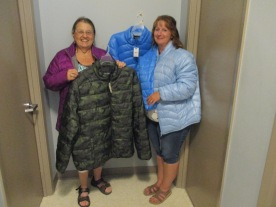 ANGELA & JUDY COATS FOR THE HOMELESS